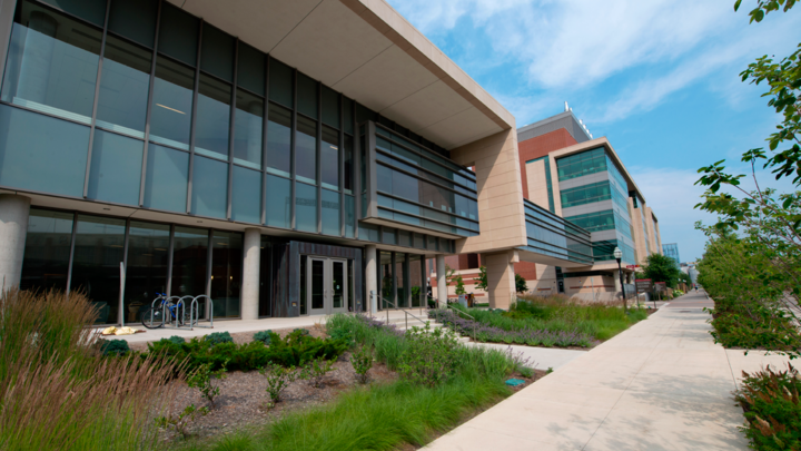 Center for Magnetic Resonance Research building